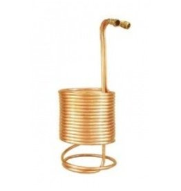 Wort Chiller - Superchiller for 10 Gallon Batches (50ft of 1/2 in. With Brass Fittings)