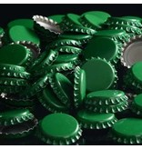 144 each- Green Bottle Caps