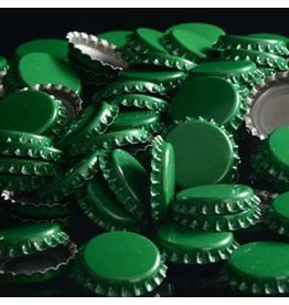 144 each- Green Bottle Caps