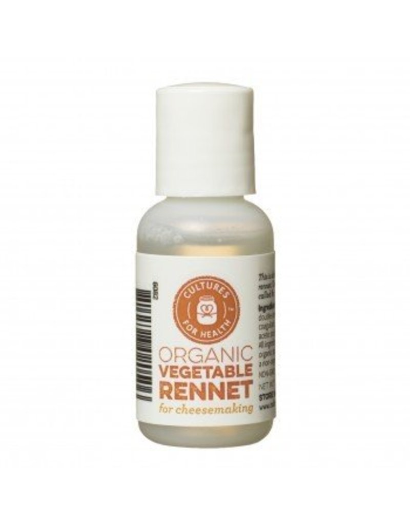Cultures For Health Organic Liquid Vegetable Rennet 1oz.
