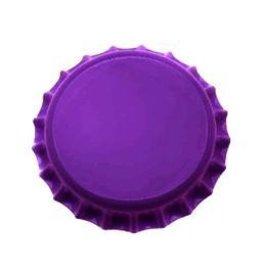 Purple Crown Caps w/ Oxygen Barrier 144/bag