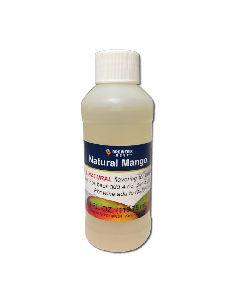 Natural Mango Flavoring Extract, 4 oz