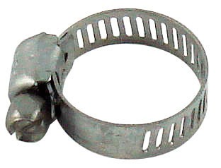 """Hose Gear Clamp - Fits 5/16"""" to 7/8"""" OD Tubing"""