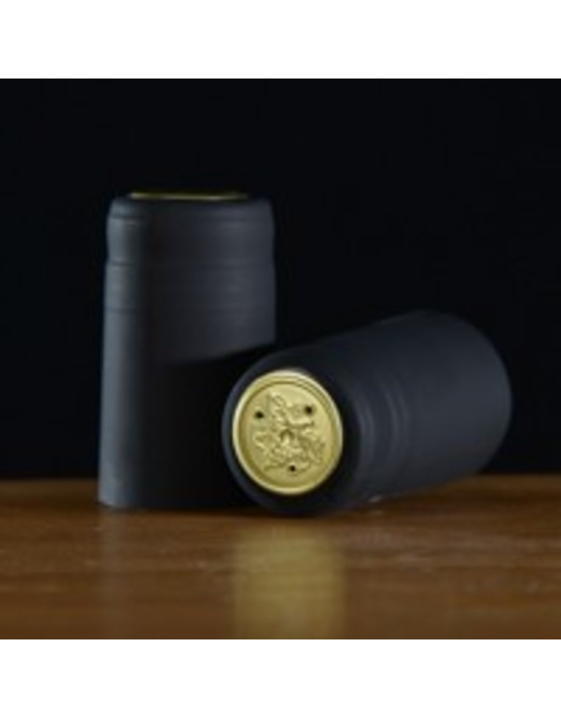 Black Matte PVC, 15 pack