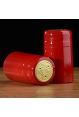 Holiday Red PVC Capsules, 30 pack