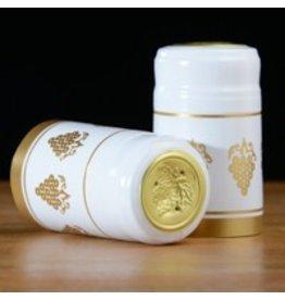White w/Gold Grapes PVC, 30 pack