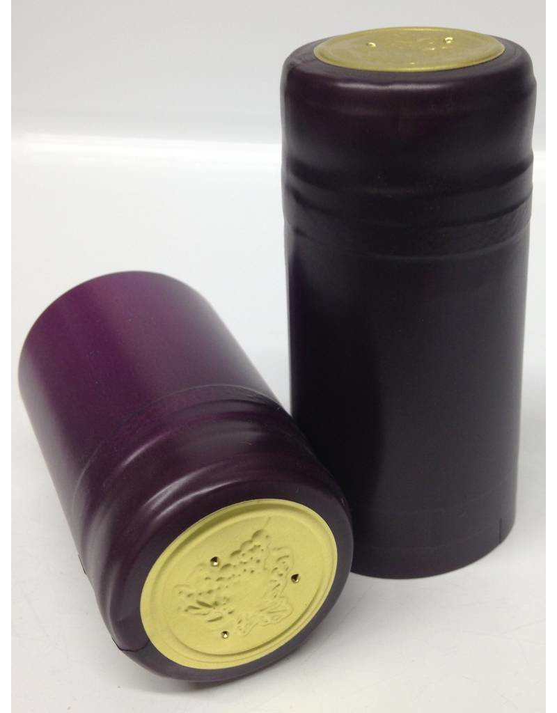 Purple PVC Capsule, 15 pack