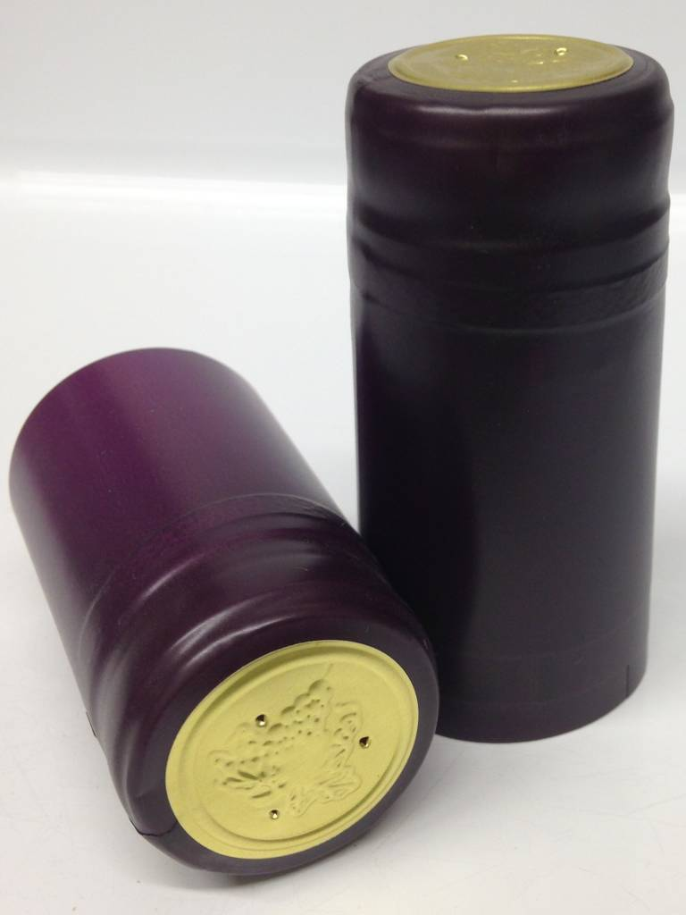 Purple PVC Capsule, 15 pack