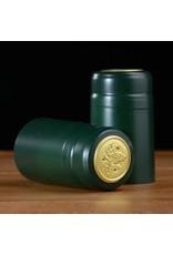 Green Matte PVC, 15 pack