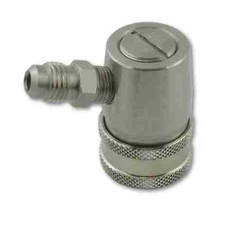 Ball Lock Disconnect S/S, 1/4MFL, Gas