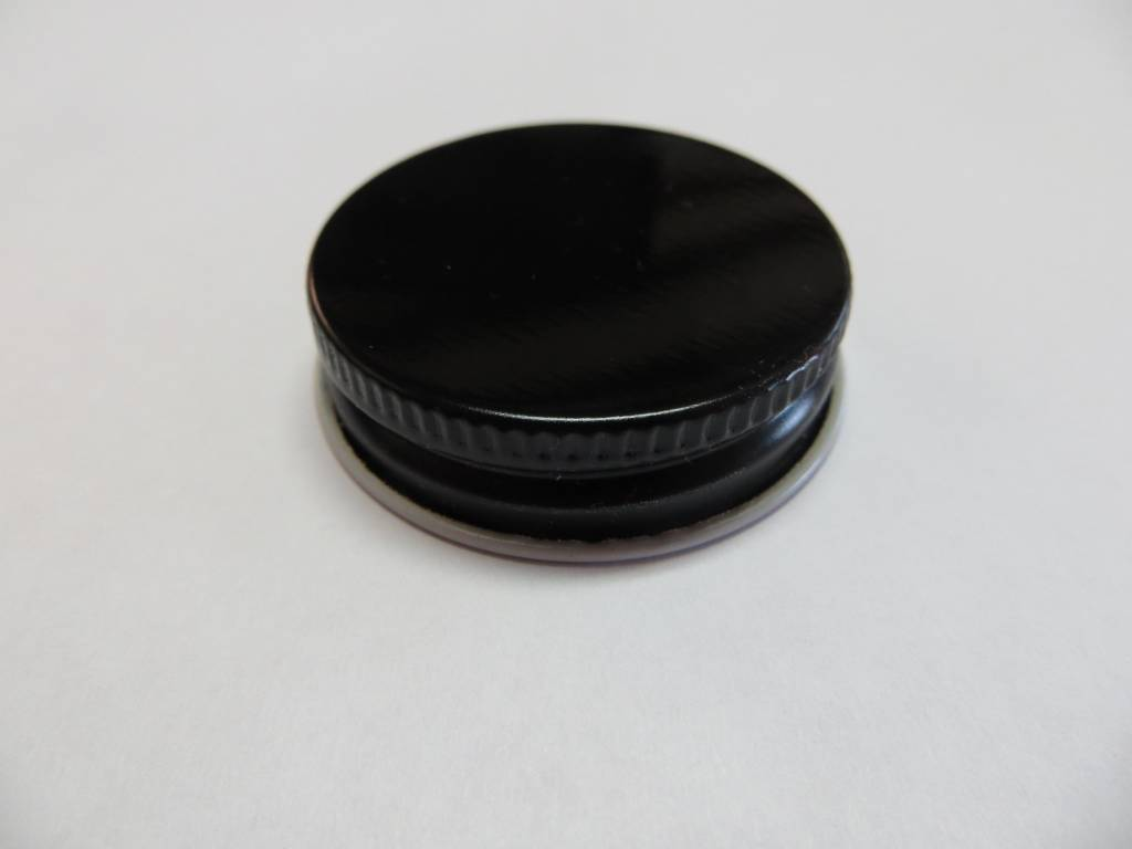 38-400 Black Metal Screw Cap
