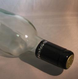 Black w/Silver Grapes PVC, 15 Pack
