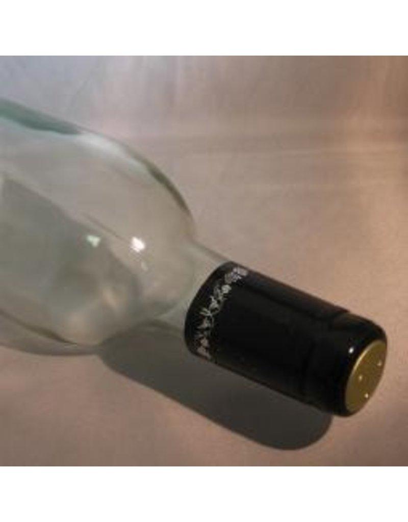 Black w/Silver Grapes PVC, 30 Pack