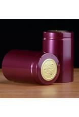 Burgundy Shiny PVC, 30 Pack