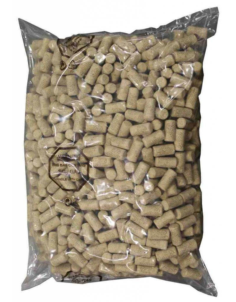 30 pk. - #8 (44x22mm) Agglomerated Wine Corks