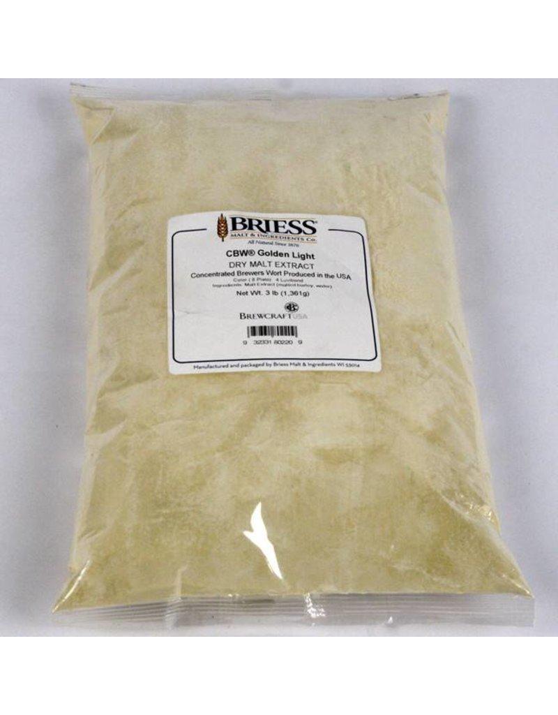 Briess Malt Briess Dry Malt Brewers Golden Light - 3 lb Bag