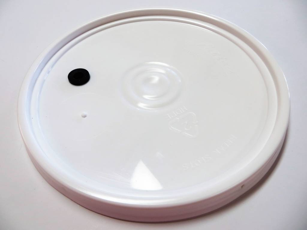 Drilled Lid For 2 Gallon Pail