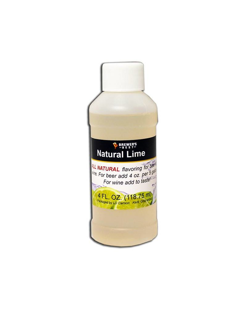 4 oz. Natural Lime Flavoring Extract
