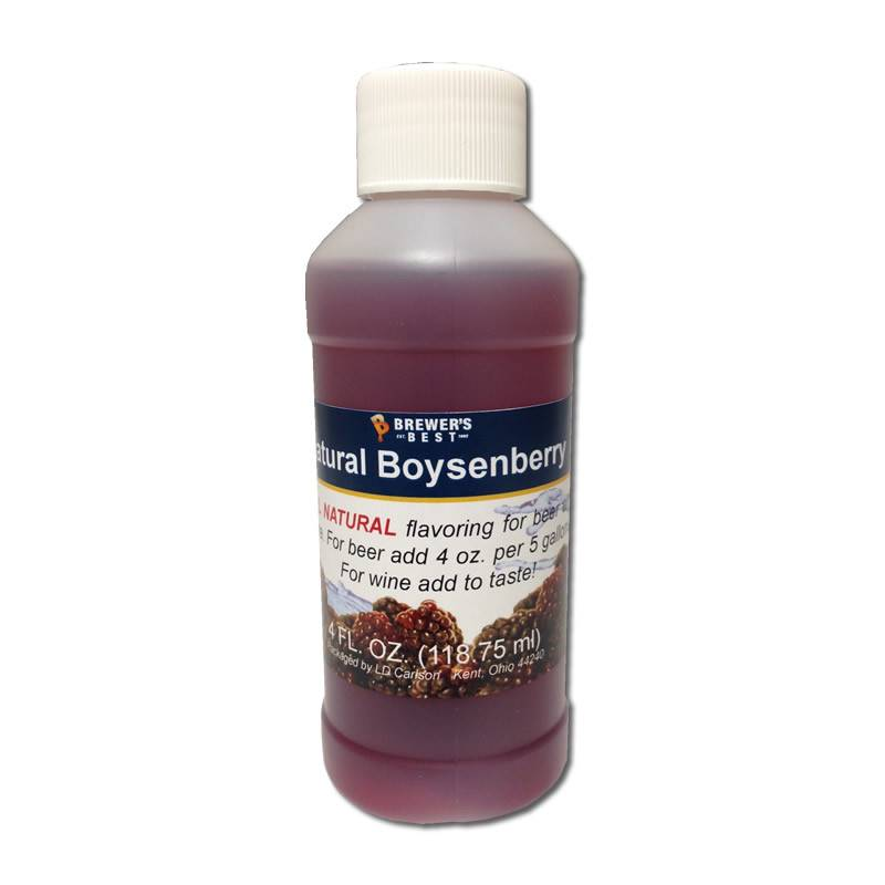 4 oz Natural Boysenberry Flavoring Extract