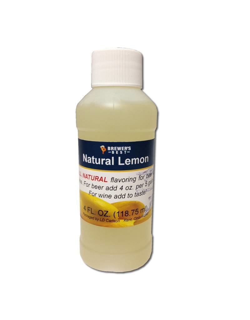 4 oz Natural Lemon Flavoring Extract