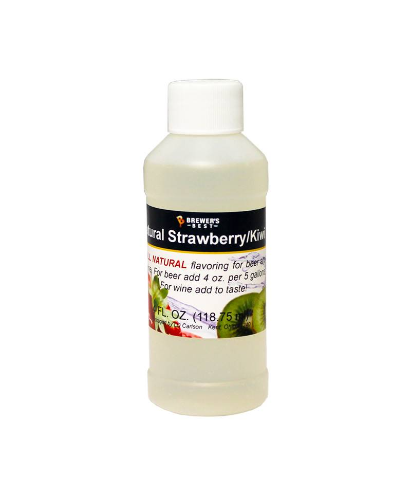 4 oz Natural Strawberry / Kiwi Flavor Extract