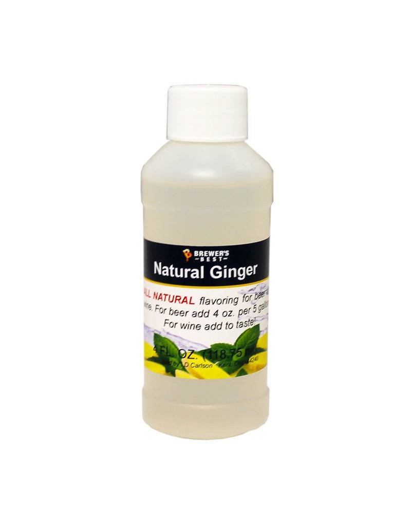 4 oz Natural Ginger Flavoring Extract