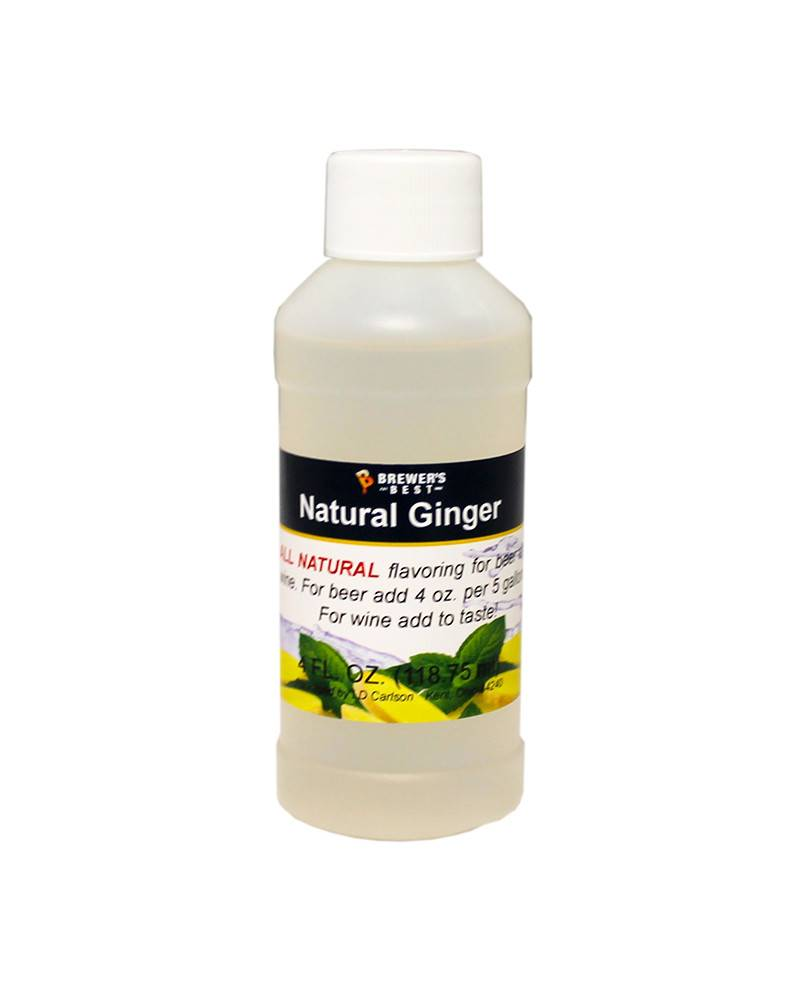 Brewer's Best 4 oz Natural Ginger Flavoring Extract