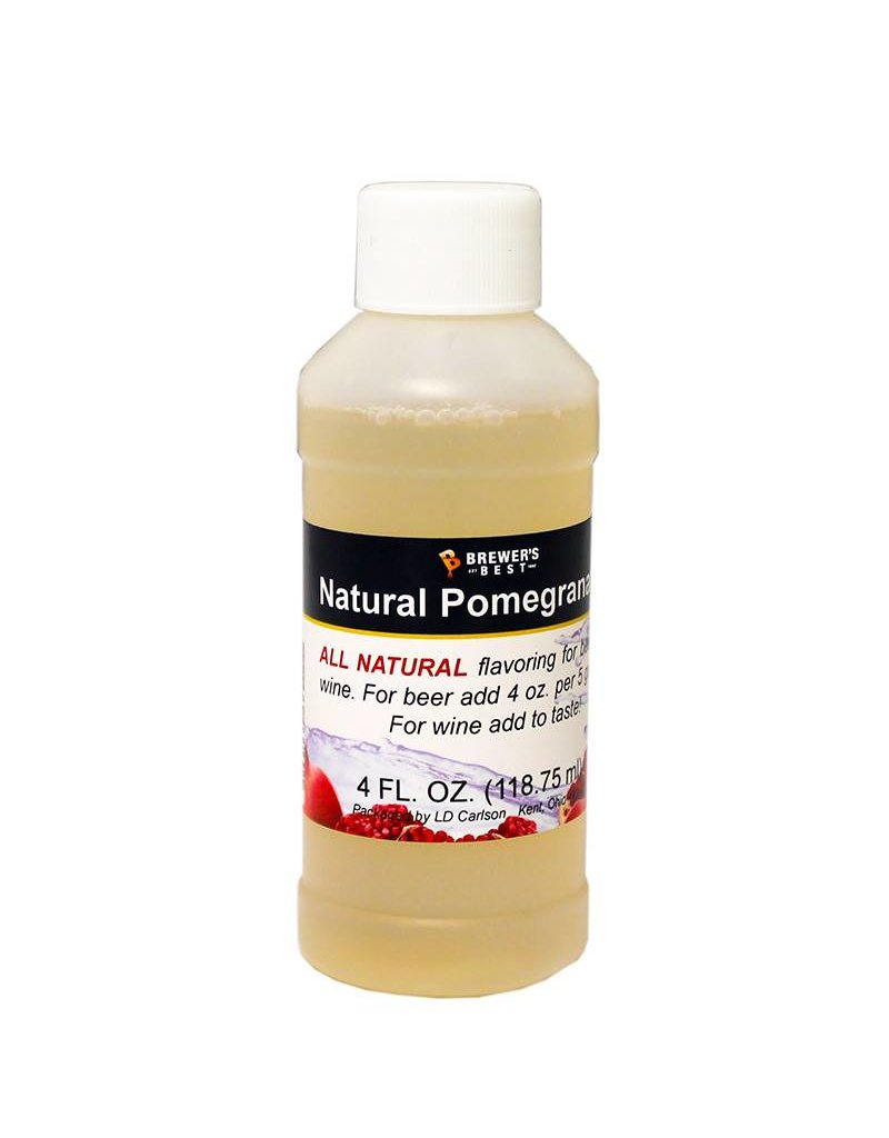4 oz Natural Pomegranate Flavoring Extract