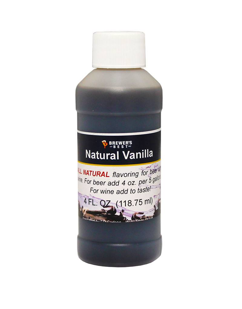 4 oz Natural Vanilla Flavoring Extract