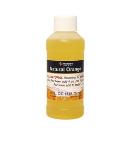 4 oz Natural Orange Flavoring Extract