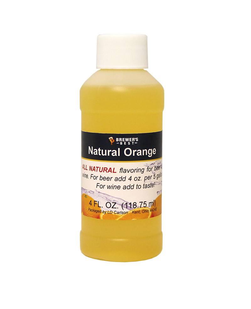 4 oz Natural Orange Flavoring Extract