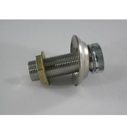 "Beer Shank Assembly, 3"" x 1/4"" Bore, Stainless Steel"
