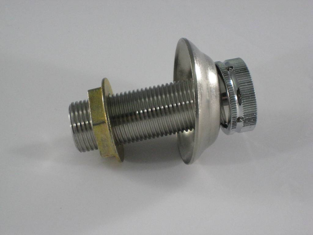 """Beer Shank Assembly, 3"""" x 1/4"""" Bore, Stainless Steel"""