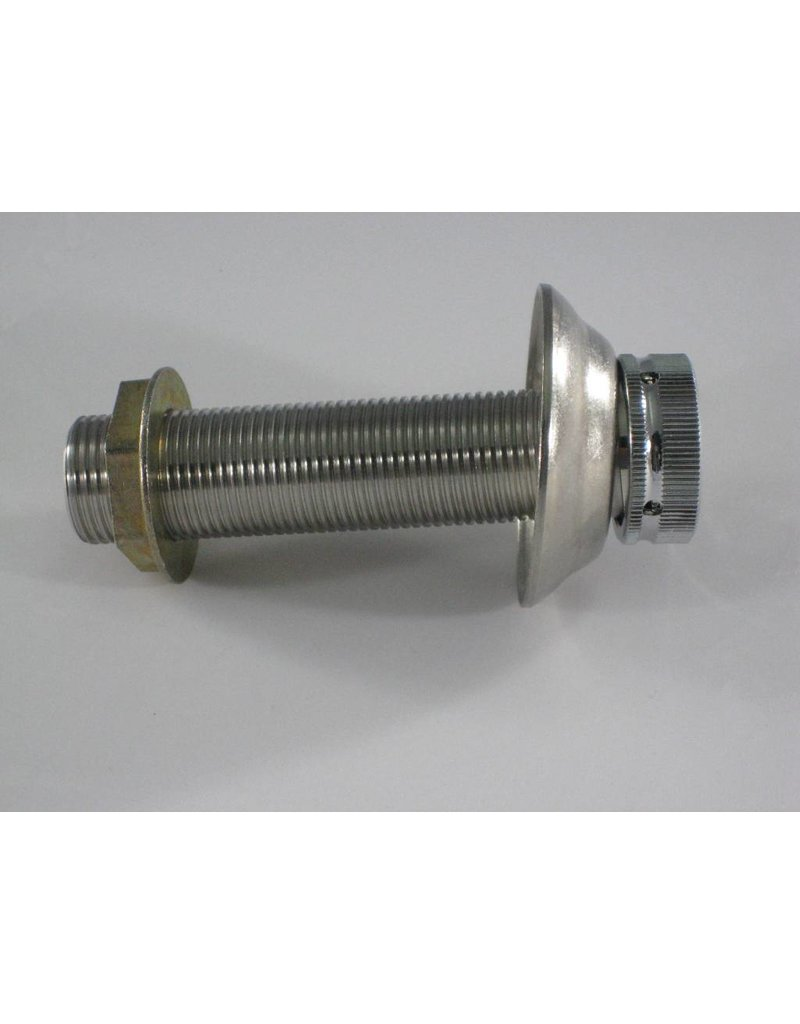 """4""""x1/4"""" Bore, Stainless Steel Shank Assembly"""