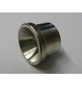 """Chrome Plated Brass Ferrules for 3/8"""" ID SS Tubing"""