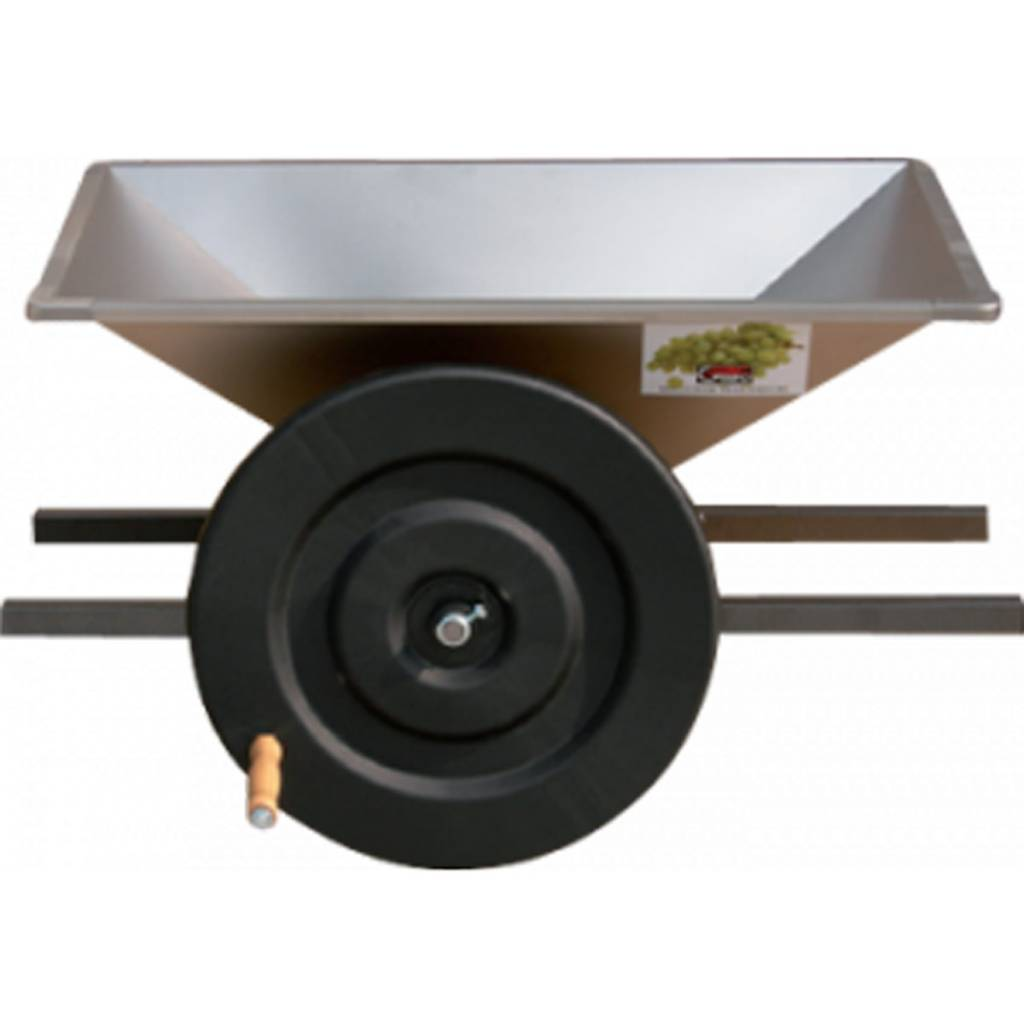 Grape Crusher with Stainless Steel Hopper