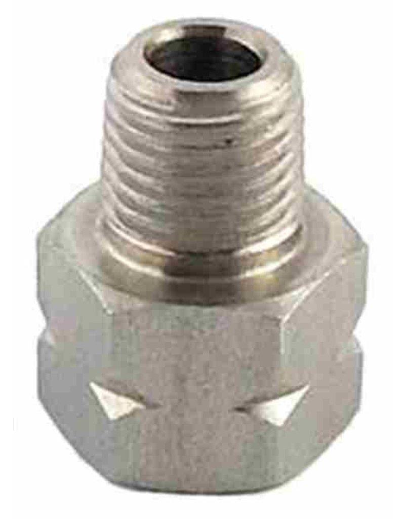 9/16-18 x 1/4MPT Gas/Liquid Adapter