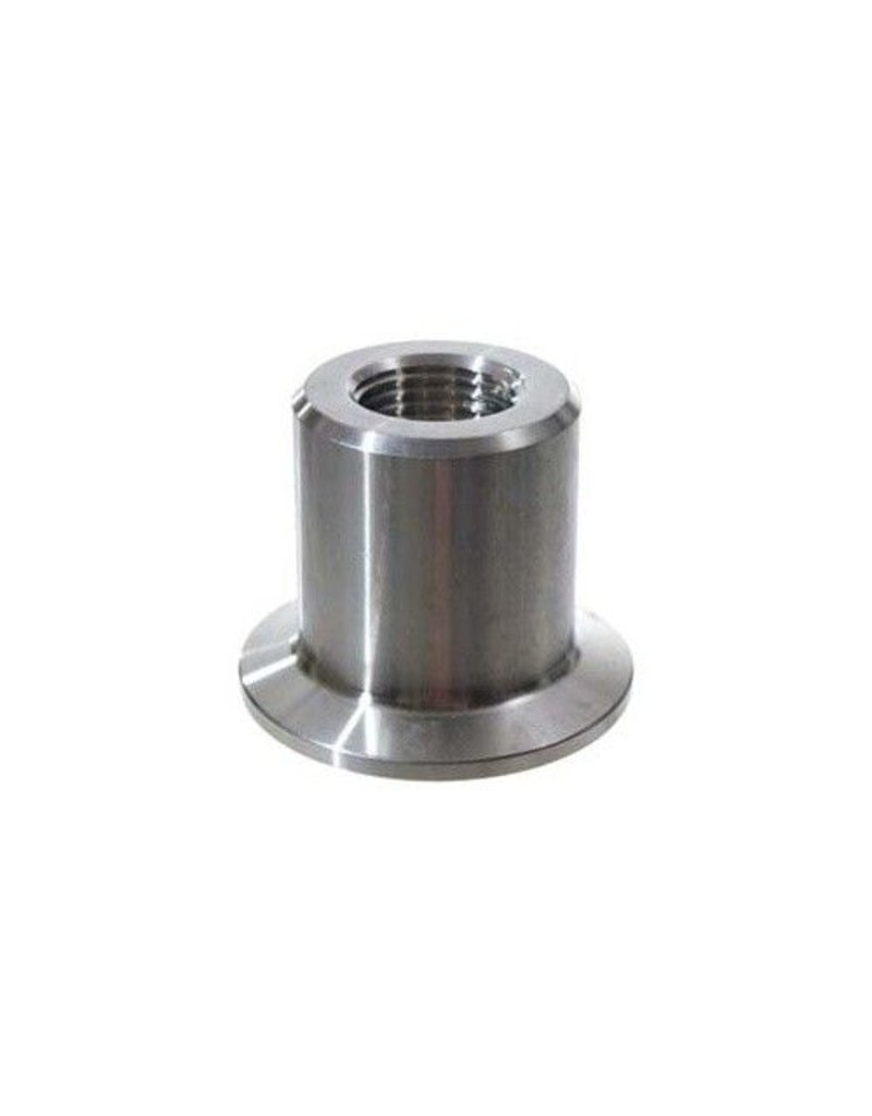 """1.5"""" Tri-Clamp x 1/2"""" FPT, Stainless Steel"""