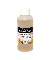 Natural Pear Flavoring, 4 oz.