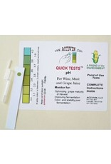 Accuvin pH Test Kit, 10/pk