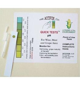 Accuvin pH Test Kit, 10/pk