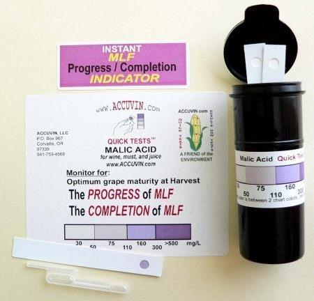 Accuvin Malic Acid Test Kit, 10/pk.