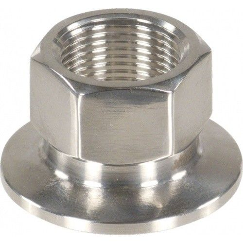 "1.5"" Tri-Clamp x 3/4"" Female BSPP, Stainless Steel"