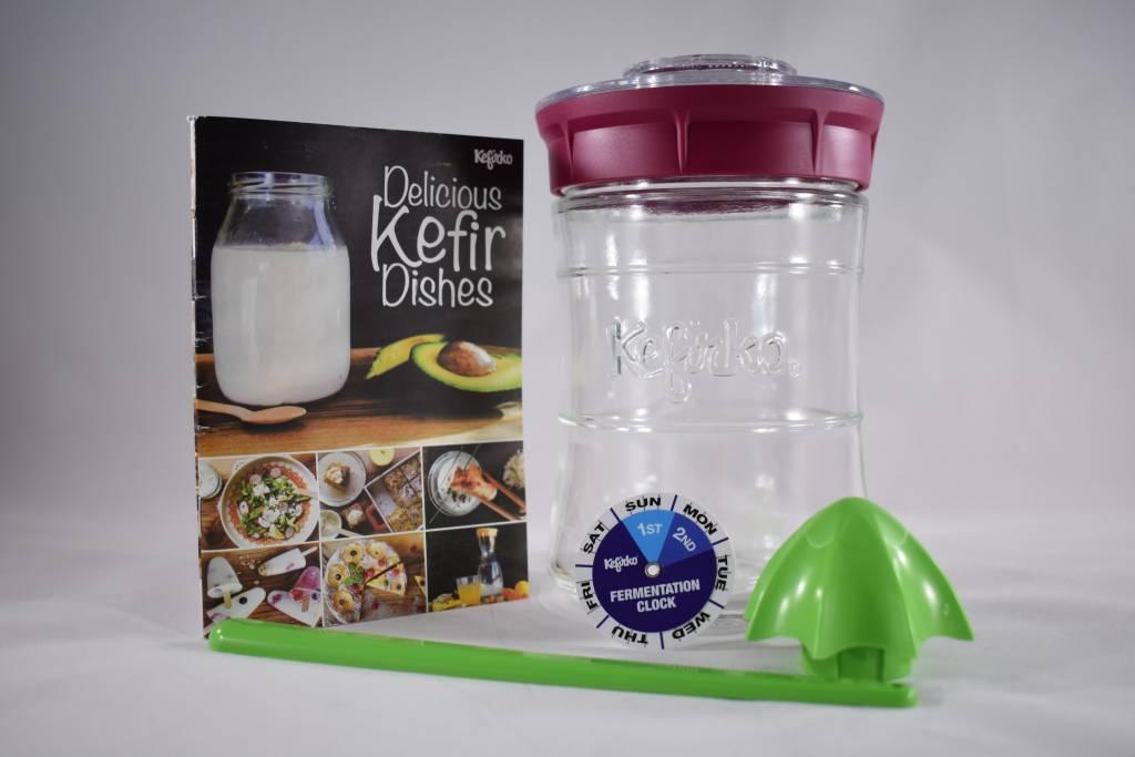 Kefirko Kefirko, Kefir Making Kit, Pink
