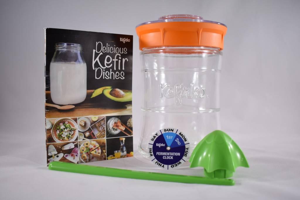 Kefirko Kefirko, Kefir Making Kit, Orange