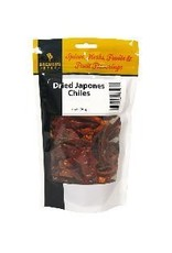 2 oz. Dried Japones Chiles