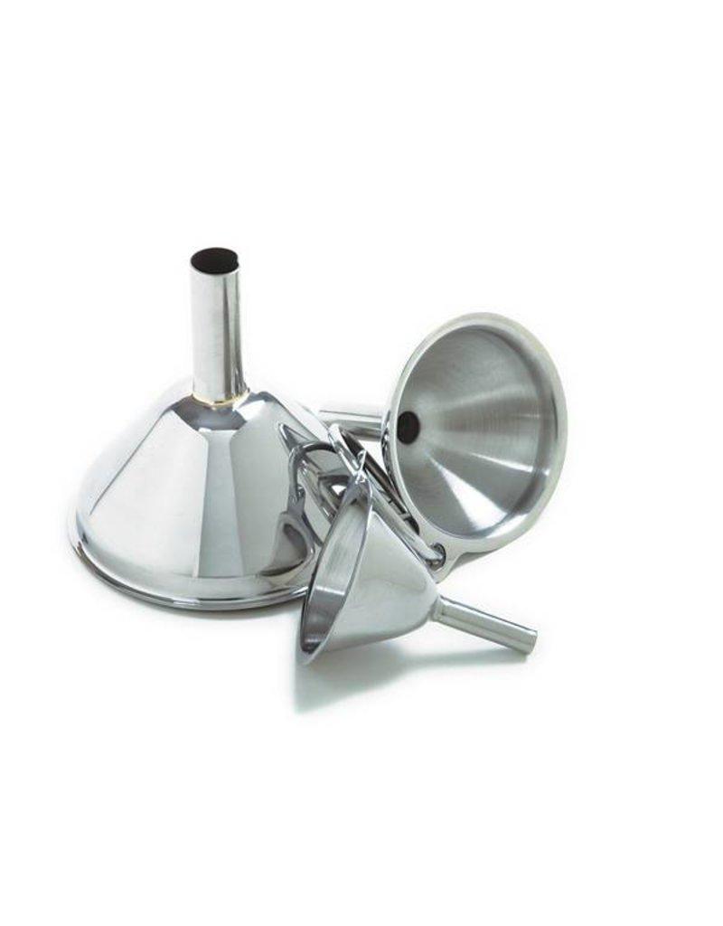 Norpro S/S Funnel Set 3PC