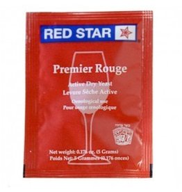 Red Star Premier Rouge Wine Yeast, 5 gm - Red Star