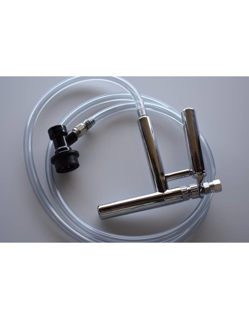 Beer Line Assembly, Ball Lock to Pluto Gun Faucet