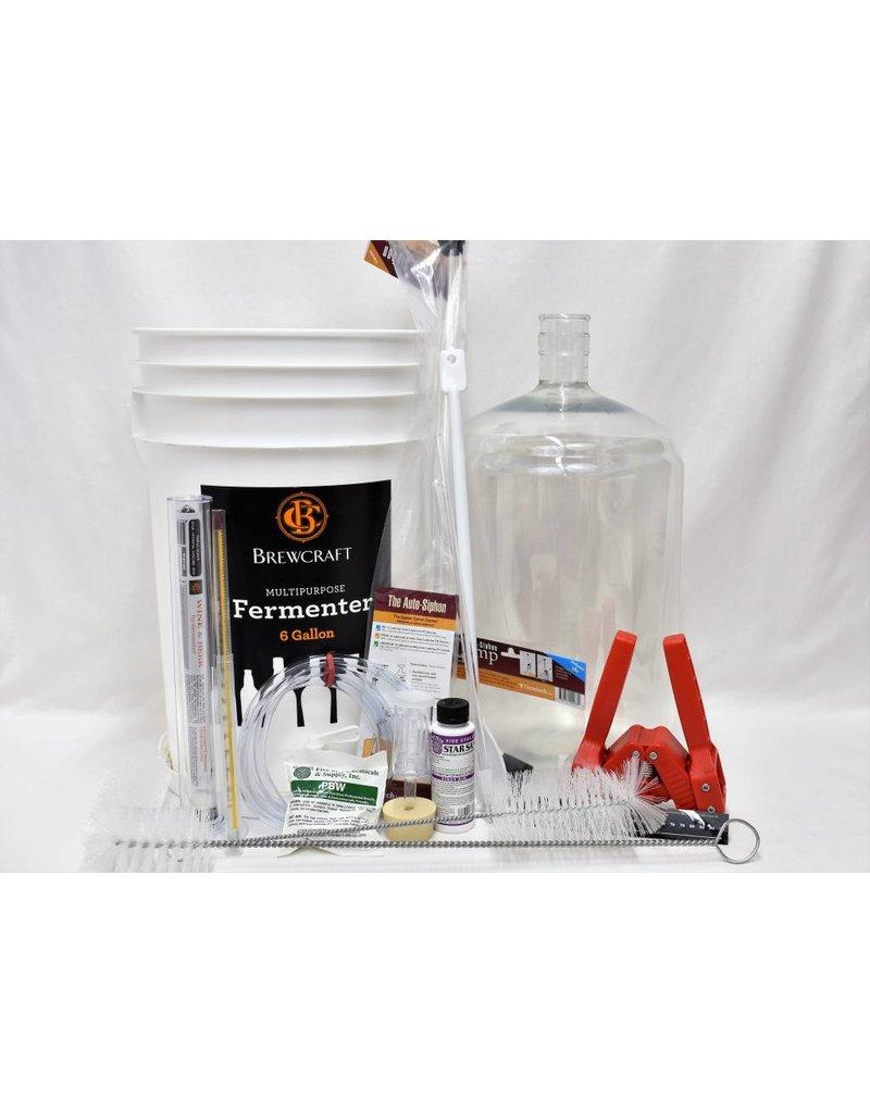 Beer Equipment Starter Kit w/ 6 Gallon PET Carboy